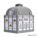 VOLLMER 42002 - H0 Euro-Bank mit Euro-Sonnens