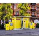 VOLLMER 43777 - H0 DHLPackstation mit Briefkästen...