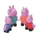 BIG 800057113 - PlayBIG Bloxx Peppa Pig Peppa´s Family