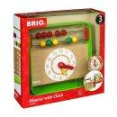 BRIO 30447  Lernuhr mit Zählrahmen