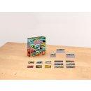 PIATNIK 659393 - Kompaktspiel Memo und Domino Papageien