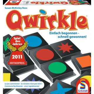 Schmidt Spiele 49014 - Qwirkle - Spiel des Jahres 2011