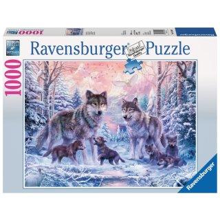 Ravensburger 1000 Teile - 19146 Arktische Wölfe