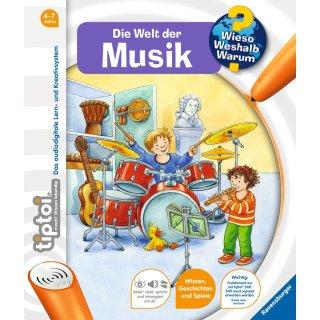 Ravensburger tiptoi Bücher - 00583 WWW3 Die Welt der Musik