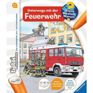 Ravensburger tiptoi Bücher - 00581 WWW6 Unterwegs mit der Feuerwehr