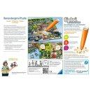 Ravensburger tiptoi Spiele/Puzzles - 00554 Puzzeln, Entdecken, Erleben – Im Einsatz
