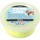 Foam Clay®, Glitter, 35 g, gelb