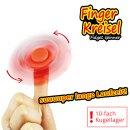 Finger Kreisel Deluxe - Spinner 4 fach-sort.