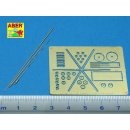 ABER-R-30 - German 2m, 1,8m and 1,4m aerials for command...
