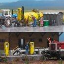 Busch 1413 - Diesel-Tankstelle H0