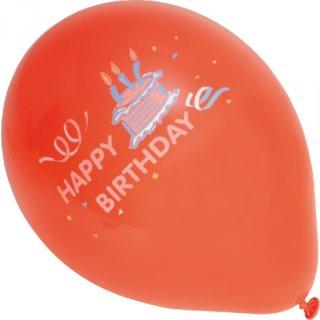 Ballons Happy Birthday 10 Stück