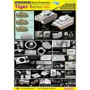 DRAGON 500776885 1:35 Tiger I Early Production...