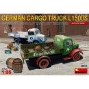 MiniArt 38014 - German Cargo Truck L1500S Type  1:35