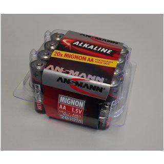CARSON 500609050 Batterie Box Mignon/AA 1,5V (20)