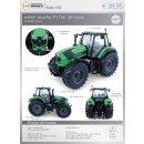 UH 5209 - Traktor Deutz-Fahr TTV 7250 - 2017 version