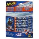 Hasbro (A2996E24) Nerf N-Strike Elite Deko 12er Dart...