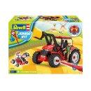 REVELL 00815 - Traktor mit Lader und Figur 1:20