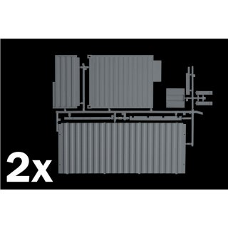 ITALERI (3888) 1:24 Shipping Container 20FT