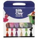 Silk Clay® Creamy - Sortiment, sortierte Farben, 6x35ml