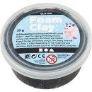 Foam Clay®, Glitter, 35 g, schwarz