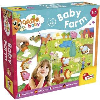 LISCIANI GIOCHI 067848 LERNSPIELE CAROTINA BABY, 1-4 Jahre - Baby Farm