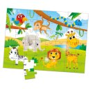 Lisciani (066797) Tiere Holz - Puzzle