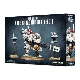 Tau Empire (56-15) TAU EMPIRE XV88 BROADSIDE BATTLESUIT