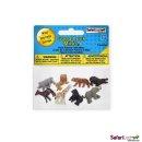 Safari S346322 Wildtiere Glücksminis Fun Pack 8 Figuren