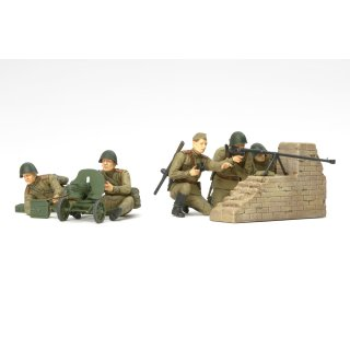 1:35 WWII Fig-Set Rus. Panzer