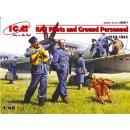 ICM - 48081 RAF Plioten und Bodenpersonal  1:48