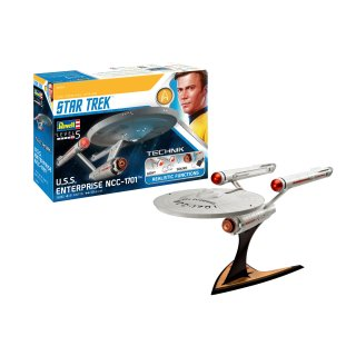 REVELL 00454 - USS Enterprise NCC-1701- Technik 1:600