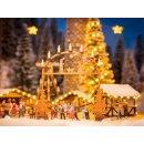 NOCH (14391)& Weihnachtsmarkt-Eingangsbogen H0