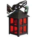 stafil (DX009) Laterne Kunststoff rot 3cm