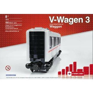 V-Wagen 3 Waggon Wiener Linien (1810)