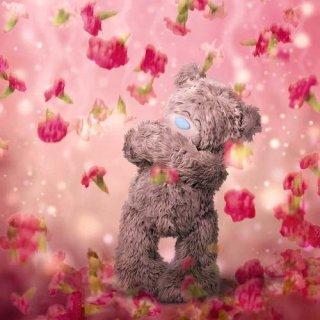 Me To You Tatty Teddy holografische Grüße Karte