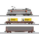 MINITRIX T11142 - Startpackung Güterzug Frankre