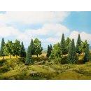 NOCH 24620 - Mischwald 8 Bäume, 10 -14 cm H0,TT