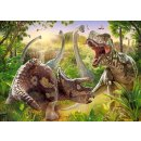 Castorland B-018413 Dinosaur Battle, Puzzle 180 Teile
