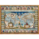 Castorland C-200733-2 Map of the world,1639,Puzzle 2000...