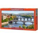 Castorland C-400096-2 Vltava Bridges in Prague,Puzzle...