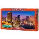 Castorland C-400195-2 Marina Pano,Dubai Puzzle 4000 Teile