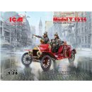 ICM - 24017 Model T 1914 Fire Truck with Crew  1:24