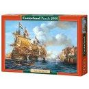 Castorland C-200245-2 Battle Of Porto Bello 1739 Schiff...