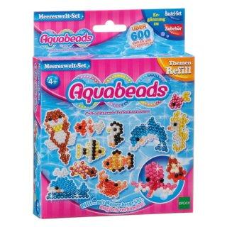 Aquabeads Themen Refills 79138 - Meereswelt Set
