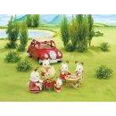 Sylvanian 5048 - Dachgepäckträger mit Picknick-Set