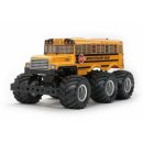 Tamiya 300047376 - 1:18 RC King Yellow 6x6 Bus L
