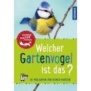 KOSMOS Buch 161968 - Welcher Gartenvogel ist das?