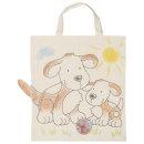 GOKI 58730 - Baumwollbeutel Hunde