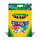 Crayola 132828 KLASSIK -  8 Ultra Clean Wachsmaler