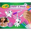 Crayola 072643 COLOUR´N` WASH -  Hase und Katze